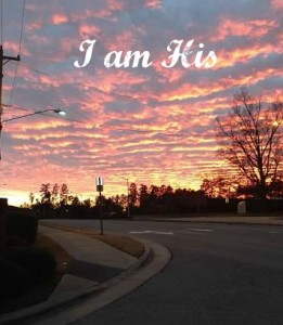Pink Sunset, I am His